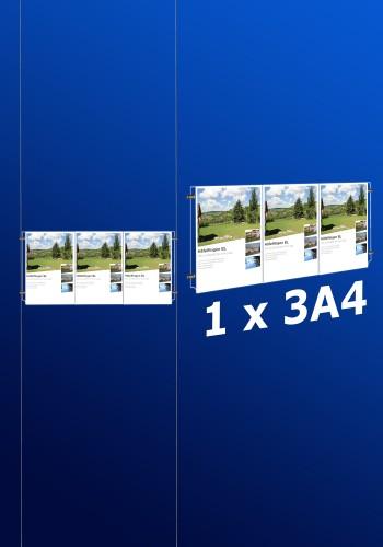 Fensterdisplays 1 x 3A4