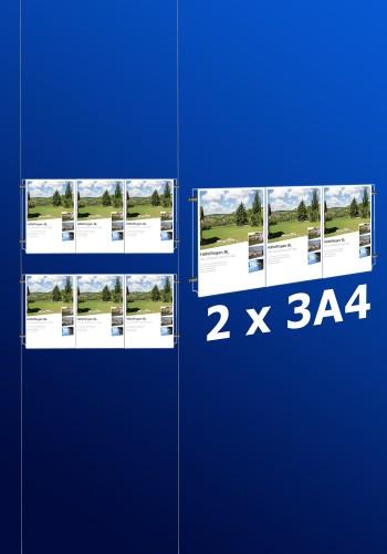 Fensterdisplays 2 x 3A4