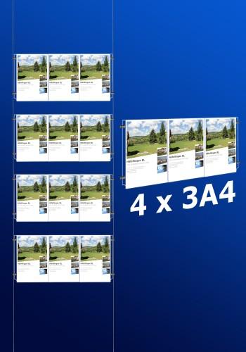 Fensterdisplays 4 x 3A4