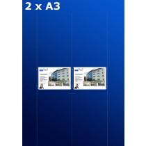 Fensterdisplays 2 x A3 - D