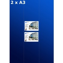 Fensterdisplays 2 x A3