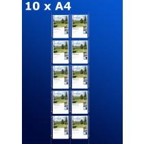 Fensterdisplays 10 x A4 - D