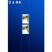 Fensterdisplays 2 x A4