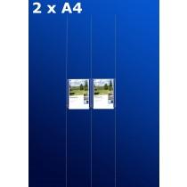 Fensterdisplays 2 x A4 - D