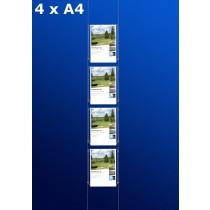 Fensterdisplays 4 x A4